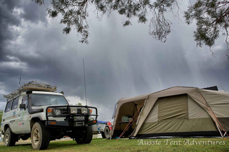 Main Menu & cassowary | Aussie Tent Adventures